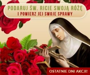 Twoja róża u św. Rity